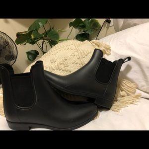 Merona Target back ankle rain boots